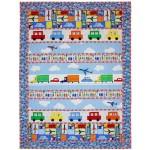 """Trucks, Cars & Planes Quilt by Marinda Stewart /41""""x54"""""""