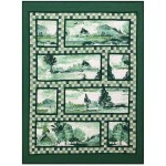 "Tuscan Impression Quilt by Marinda Stewart /43""x58"""