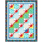"On the Tide Quilt by Marsha Evans Moore /52.5""x68.5"" - Pattern Available in March, 2021"