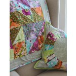 Vignette quilt and pillow