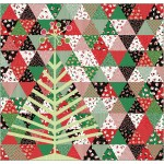 "Tinsel Tree Quuilt by Everyday Stitches 70""x73"""