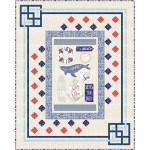 "Cornered - Vitamin Sea Quilt by Miss Winnie Designs /64""x80"