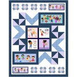 """nooks and crannies - we are all kinds of wonderful quilt by ladeebug design /54""""x70"""""""