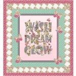 "Where the Fairies Fly Quilt by Natalie Crabtree /60""x65"""