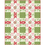 Winter Wonderland Quilt by Heidi Pridemore /60x75""