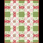 """Winter Wonderland Quilt by Heidi Pridemore /60x75"""""""