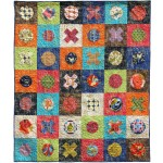Valencia XO - Hugs & Kisses Quilt by Meli Mathis