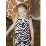 Show Your Skin Zebra Dress