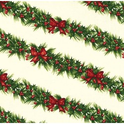 HOLLY-DAY GARLAND