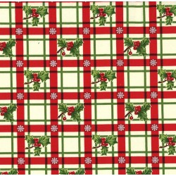 HOLLY-DAY PLAID