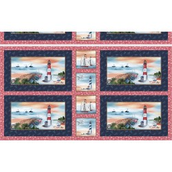"""LIGHTHOUSE PLACEMATS - 24"""" repeat"""