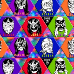LUCHA LIBRE PATCH - NOT FOR PURCHASE BY MANUFACTURERS