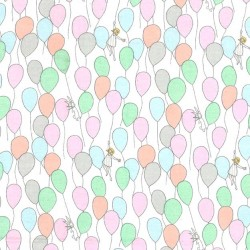 BALLOONS on FLANNEL