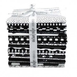 BLACK AND WHITE FAT 1/4 BUNDLE - 20 PCS - comes in a case of 3
