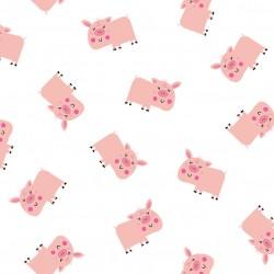 MINI PIG ON MINKY