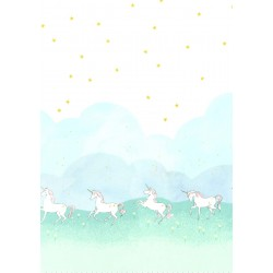 UNICORN PARADE on MINKY- Contact your account manager to purchase this item