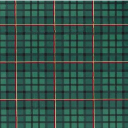 NUTCRACKER PLAID on MINKY
