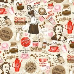 COFFEE SHOP ON MINKY