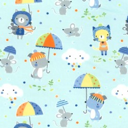 PUDDLE PLAY on MINKY - contact your account manager to purchase this item