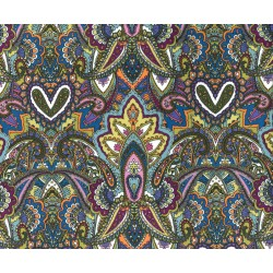 GYPSY HEART on MINKY- Contact your Account manager to purchase this item