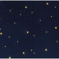 STAR SPRITES ON MINKY  - Contact your account manager to purchase this item