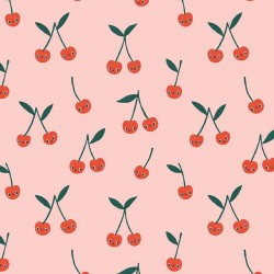 CHERRY CUTE ON MINKY  - Contact your account manager to purchase this item