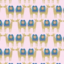 LLAMA ON MINKY  - Contact your account manager to purchase this item