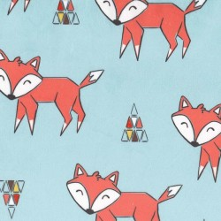TOKALA FOX on MINKY- Contact your account manager to purchase this item