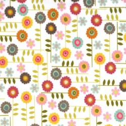GARDEN FLOWER on MINKY- Contact your account manager to purchase this item