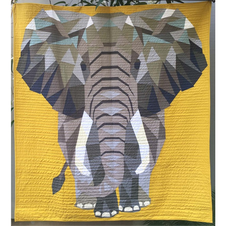 jungle abstractions the elephant by violet craft
