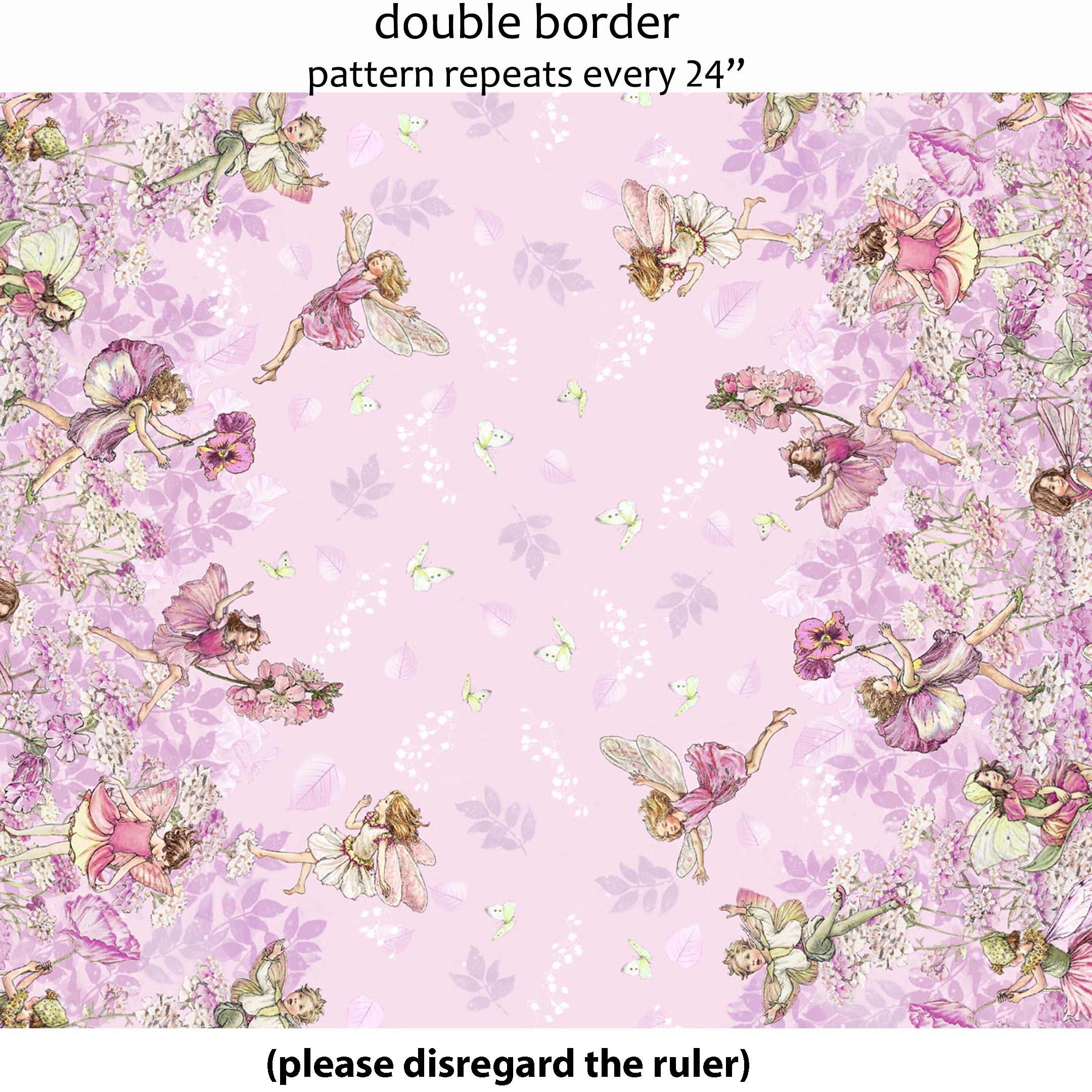Dc5110 Petal Flowers Border Petal Flower Fairies Fairy Tale Children