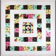 "All Around the Square Swirly Girl Designs  / 60x60"""