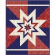 "Big Star Chevron Quilt by Hunter's Design Studio / 58""x74"""