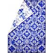 Blue & White Porcelain Quilt