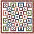 """Bustling Bazaar Quilt by Natalie Crabtree / 75-3/4""""x75-3/4"""""""