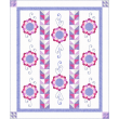 Fairy Frost - Girl Quilt by Heidi Pridemore
