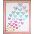"""Hearts a Flutter Quilt by Heidi Pridemore  / 57x69"""""""