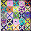 King's Cross Quilt by Tara Faughnan / 60x60""