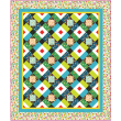 Melodies Quilt by Heidi Pridemore / 64x76""