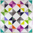 Ohio Star Burst designed by Modern Tradition Quilts / 84x84""