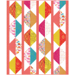 Origami Oasis Pink Quilt by Heidi Pridemore