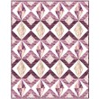 "Jewel Quilt by Lisa Swenson Ruble /48""x60"""