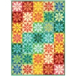 "Fairy Frost Crayon Box Quilt by Heidi Pridemore /40""x56"""