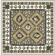 """Sailor's Valentine Earth Quilt by Marsha Moore /55.5""""x55.5"""""""