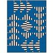"Strip Strip Goose Quilt by Hunter's Design Studio /72""x96"""