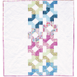 "The Charleston Square Quilt  - Pieced by Tricia Martin /71""x80"""