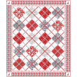 "Woodland Winter Quilt by Heidi Pridemore /59x71"""