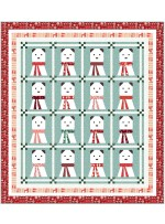 "A Beary Christmas Quilt by Wendy Sheppard / 72.5""x80.5"""