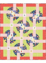 """Spin Class A Bushel and a Peck Quilt by Everyday stitches - 67""""x81"""""""