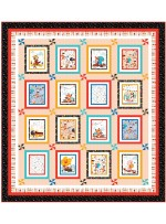 "And the Band Plays on Coral Quilt by Wendy Sheppard / 79""87"" - Pattern will be available in April"